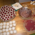 Production of my 	mulled wine truffles