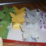 Hand made butterfly boxes to pack pralines and give them away as gifts