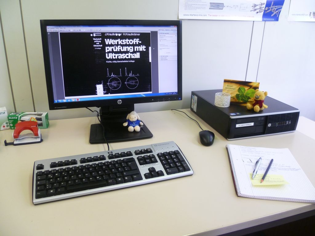 IZFP - my desk