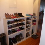 Entrance as it looks now with my new shoe cabinet (doors need to be installed)
