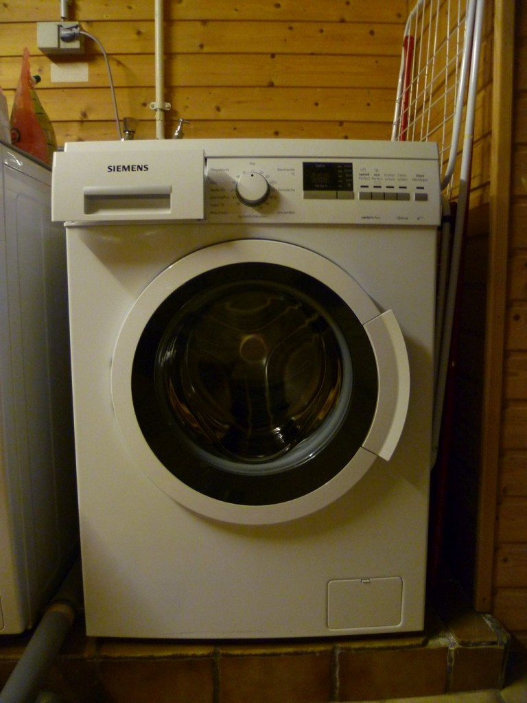 My brand new washing machine