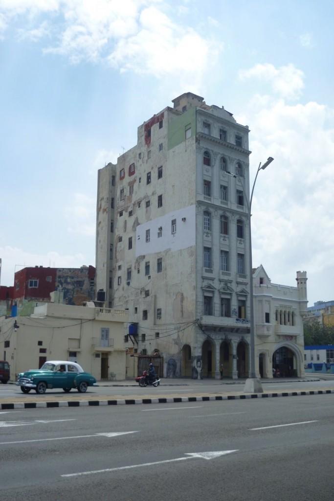 Typischer Anblick in den Straßen von Havanna