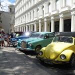 Oldtimer-Parkplatz