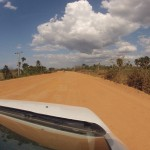 Auf dem Weg nach Cayo Jutías: manchmal ist kein Straßenbelag nicht das schlechteste