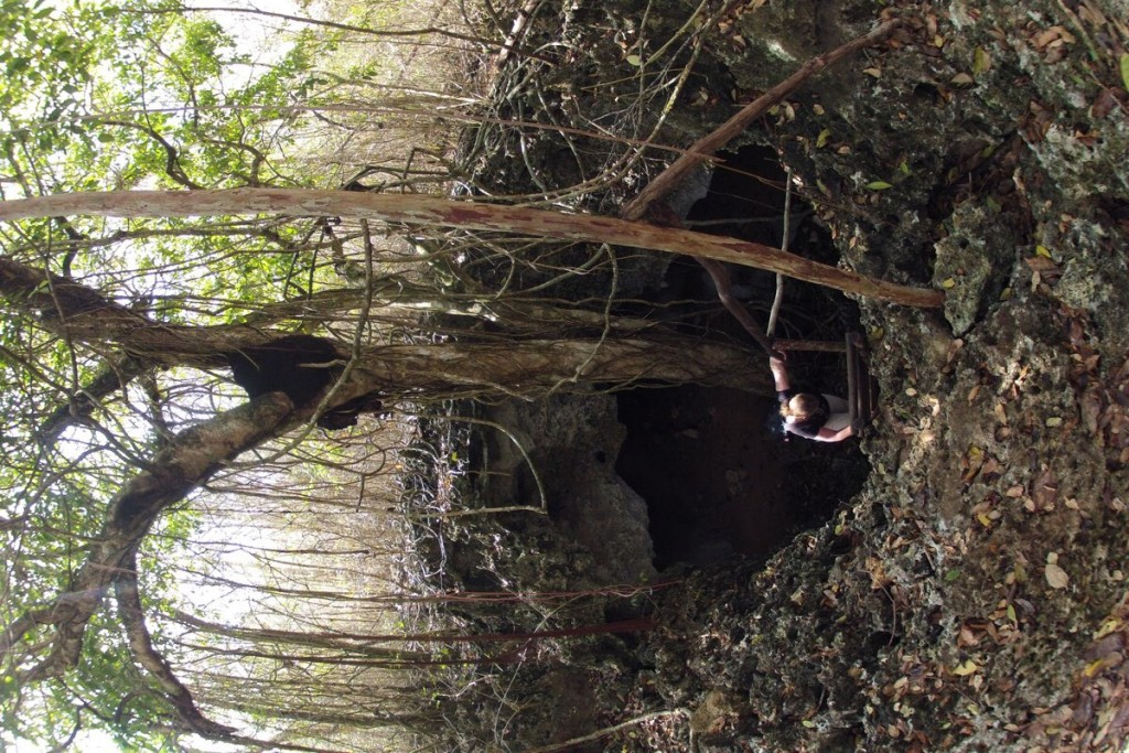 Eingang zur Cueva las Perlas