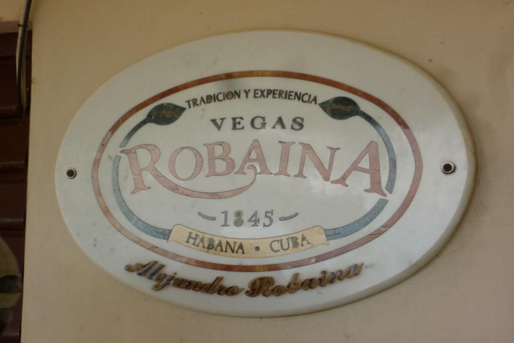 Markenzeichen der Robaina
