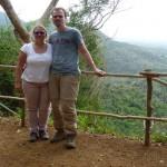Bei einer Wanderung in Soroa