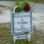 Eingang zur Krokodilsfarm