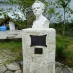 Büste zu Ehren des deutschen Naturforschers