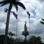 Denkmal auf dem Loma del Capiro